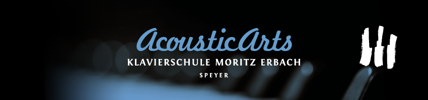 Acoustic Arts Klavierschule Speyer Header Logo